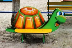 МФ 1.24 - Лавочка со спинкой «Черепаха»