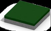 Коврик резиновый на бетонной основе