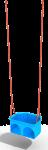 Подвес пластиковый на канатном подвесе (люлька)