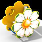Качалка на пружине «Ромашка»
