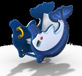 Качалка на пружине «Дельфинчик»
