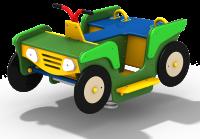 Качалка на пружине «Квадроцикл»