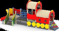 Локомотив с вагоном