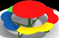 Столик «Ромашка»