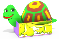 "Ящик для хранения ""Черепаха"""