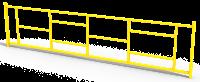 Ограждение металлическое прямое 2,5 метра