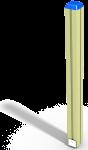 Столб деревянный (1250 мм)