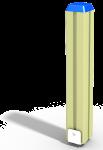 Столб дворика (650 мм)