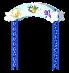 """Входная арка с росписью """"Небо"""""""