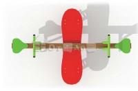 Пружинная качалка-балансир